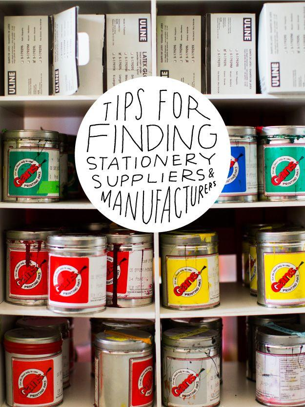 Mariage - Tips For Finding Stationery Suppliers & Manufacturers