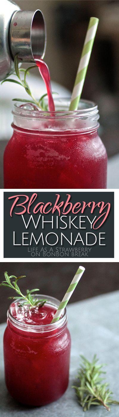 Свадьба - Blackberry Whiskey Lemonade