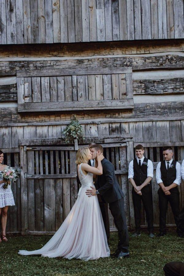 Hochzeit - Gorgeous DIY Tennessee Wedding At The Cool Springs House