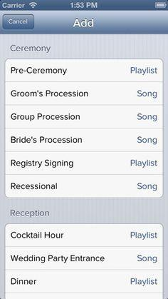 Wedding - The IPod Wedding DJ (There's An App For That