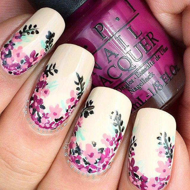 Nail top 10 nail art designs from instagram 2546327 weddbook top 10 nail art designs from instagram prinsesfo Gallery