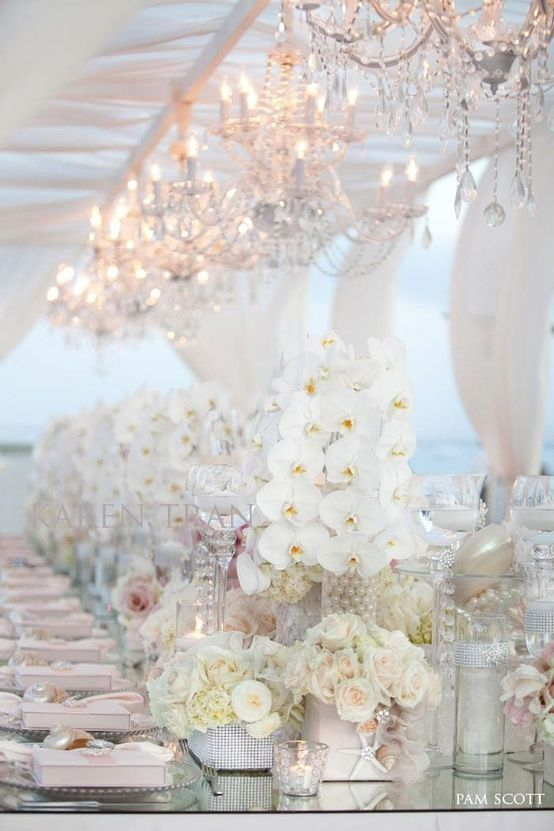 Mariage - Top 20 Tablescape Ideas For Winter Wedding