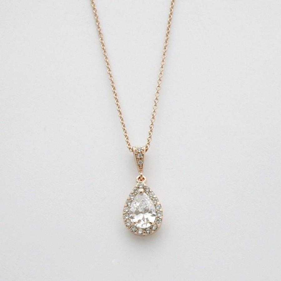 diamond ac coote teardrop angus gold pendant product white