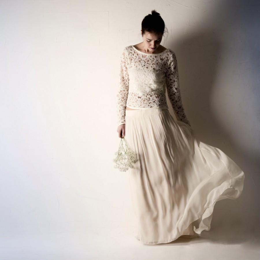 Bridal Separates: Wedding Skirt, Wedding Dress Separates, Wedding Dress