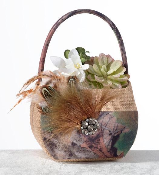 زفاف - Woodland Petal Basket