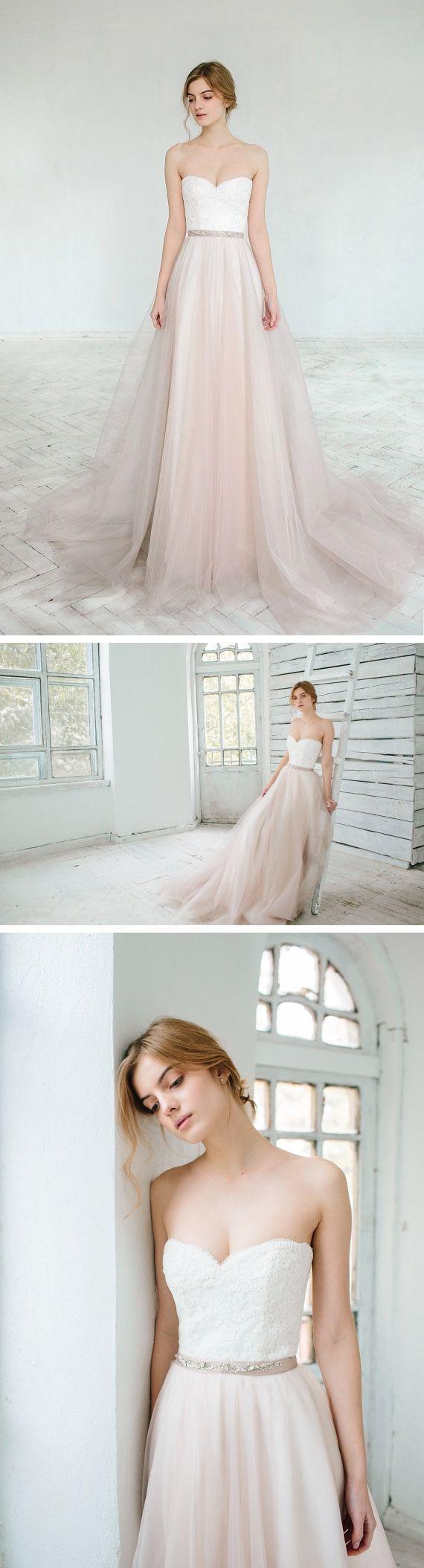 زفاف - Wedding Dress Of The Week - A Blushing Bride