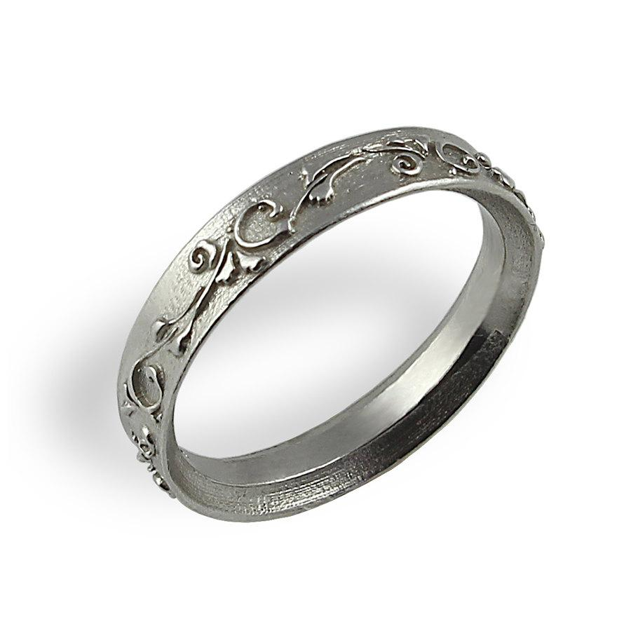 filigree deco wedding cut eternity antique platinum art diamond vintage jewelers band jewelry in bands baguette