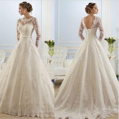 Mariage - 2016 White/ivory Lace Wedding dress Bridal Gown custom size 6-8-10-12-14-16-18+