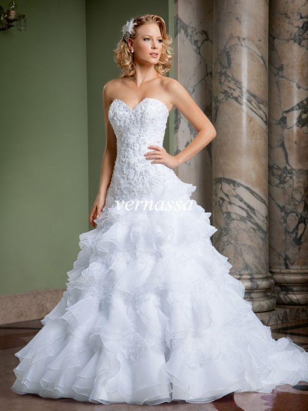 Wedding - New lace white/ivory Wedding dress Bridal Gown custom size 6-8-10-12-14-16+++++