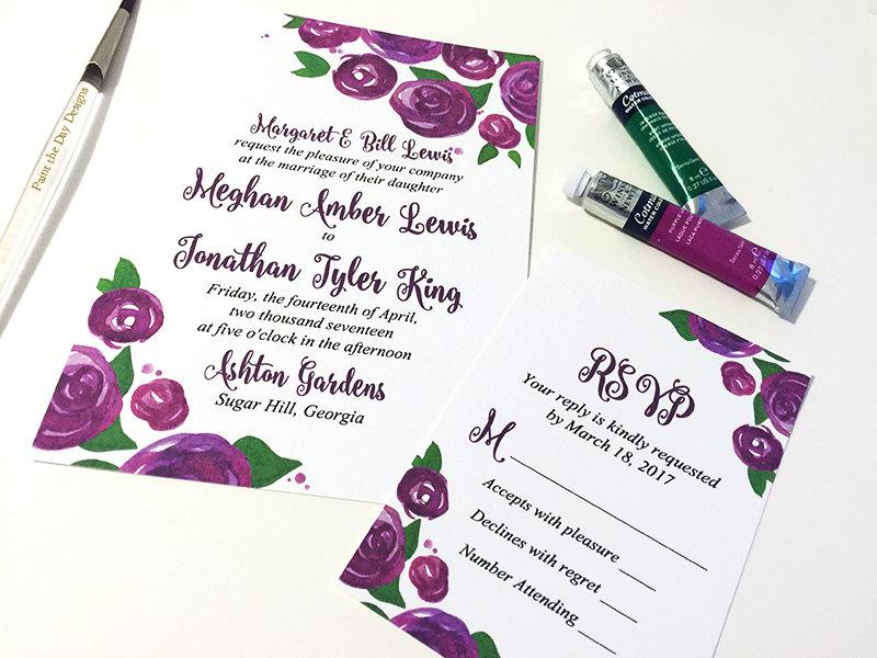wedding invitation response card - Ecza.solinf.co
