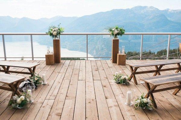 Свадьба - Intimate Squamish Wedding At Sea To Sky Gondola