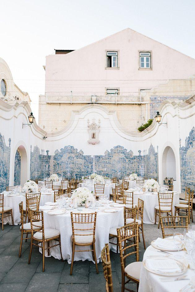 Hochzeit - Stunningly Beautiful Destination Wedding In Lisbon