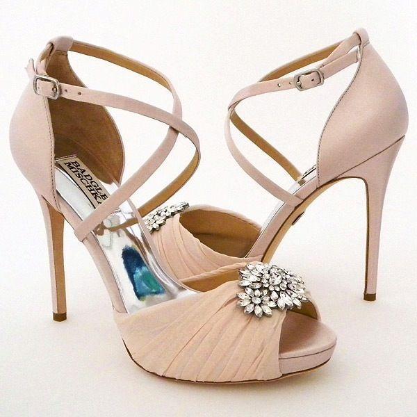Свадьба - Badgely Mischka Cacique Pink Shoes 7M