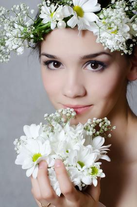 Hochzeit - fille aux fleurs