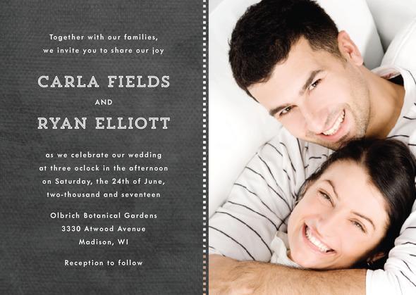 زفاف - Film Edge wedding invitations