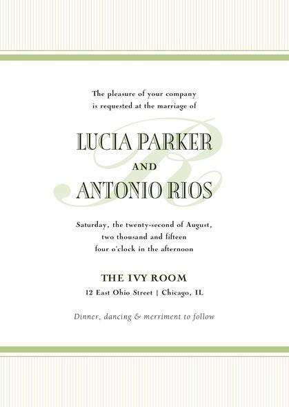 Hochzeit - Metropolitan wedding invitations