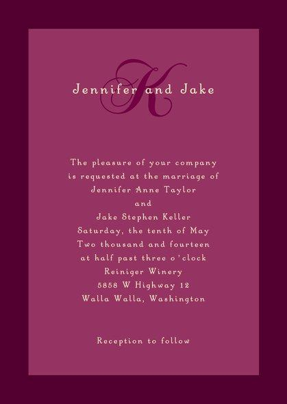 Mariage - Astor wedding invitations