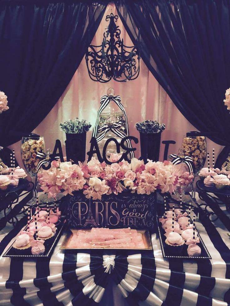 Parisian Quinceañera Birthday Party Ideas #2547488 - Weddbook