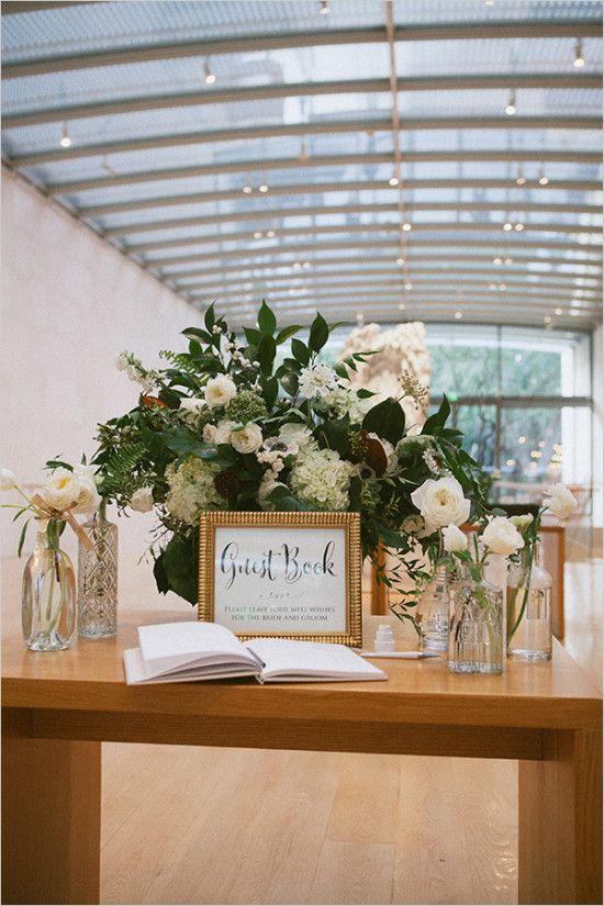 Wedding - White And Green Modern Art Garden Wedding