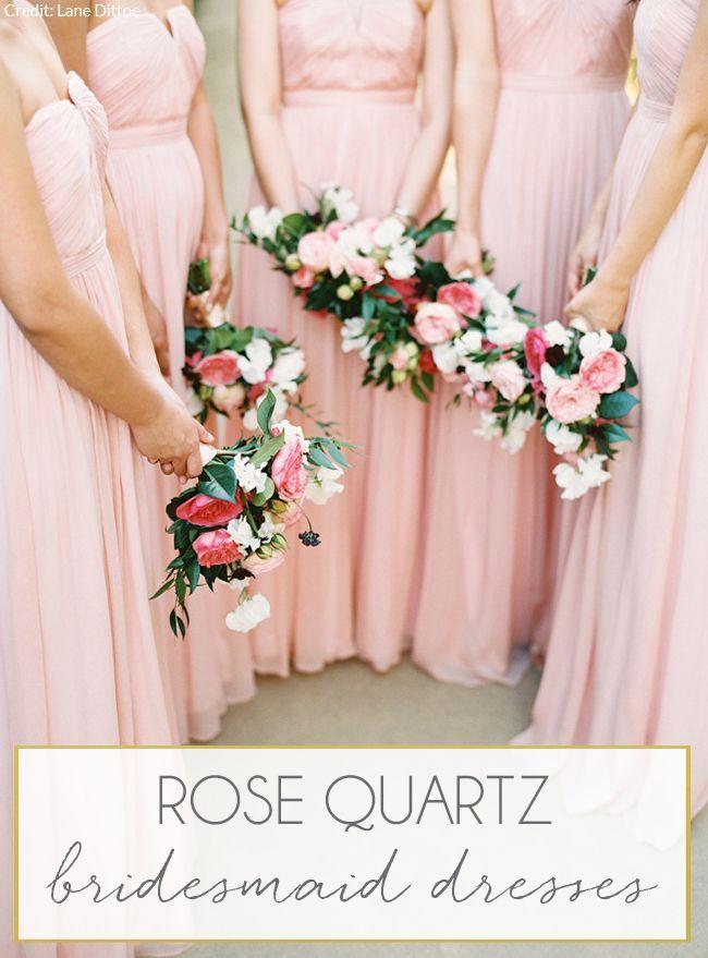 61de078c0f9 Wedding Theme - Pantone Rose Quartz Bridesmaid Dresses  2547654 ...