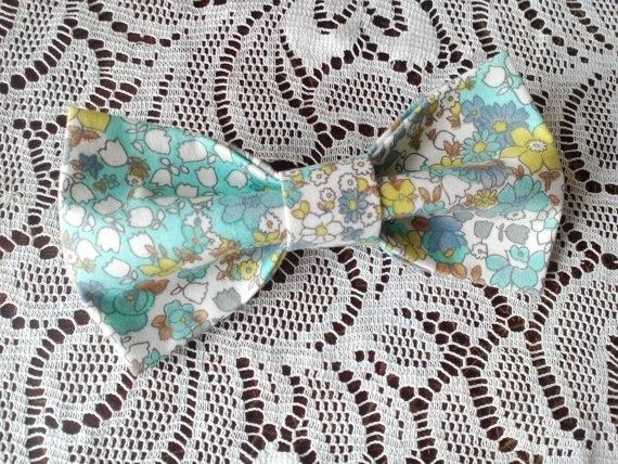 Wedding - cottage chic bow tie floral bowtie green bow ties mint tie cottage wedding woodland weddings mens gift country bridal gift boda del país ЮЗ1