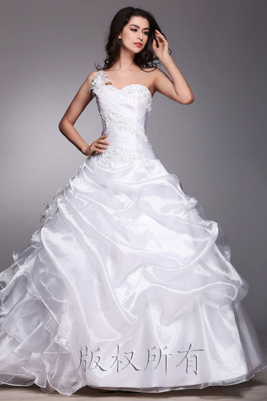 Wedding - New White/ivory Wedding dress Bridal Gown custom size 6-8-10-12-14-16