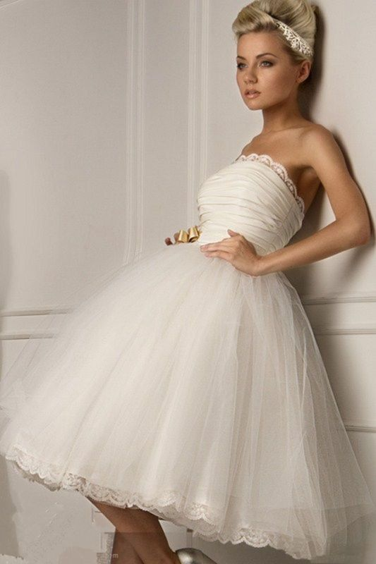 Sexy Whiteivory Short Wedding Dress Ball Bridesmaid Gown Prom Dress