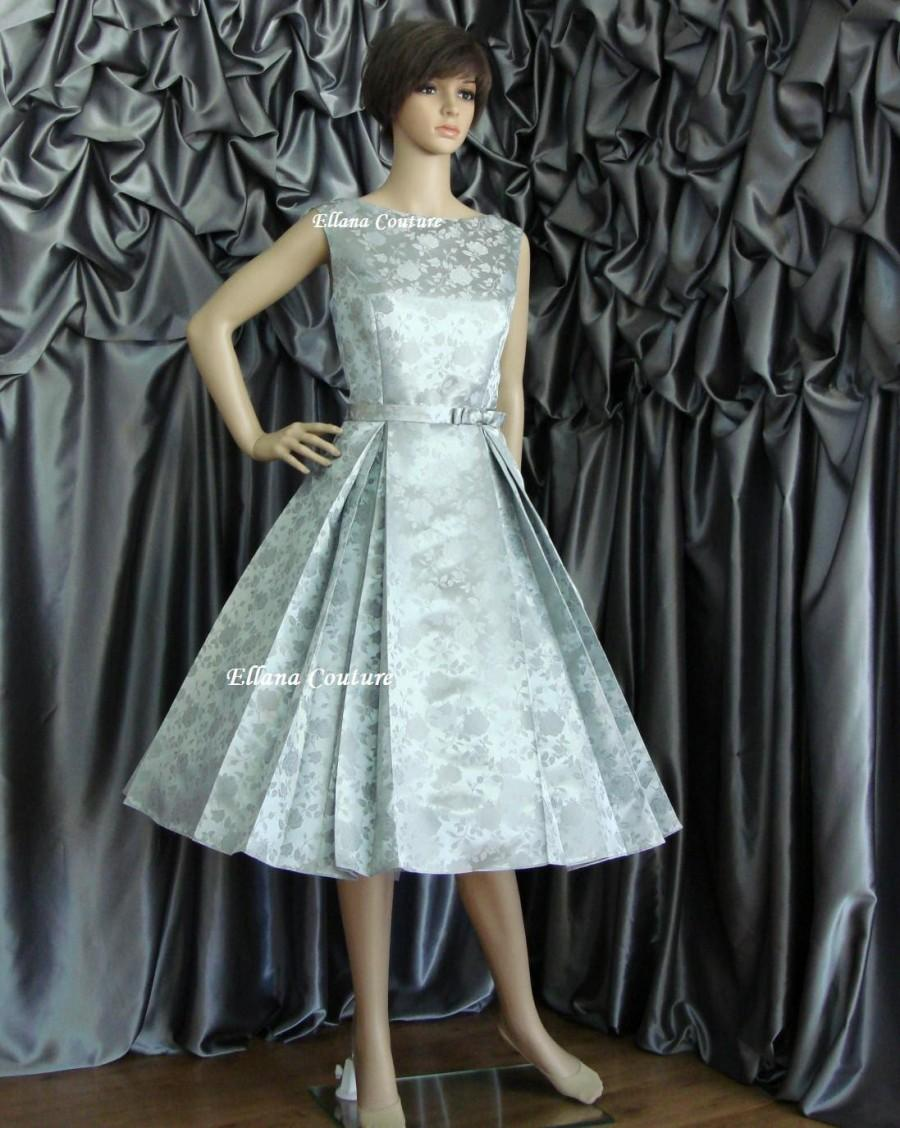Vintage Wedding Dresses Five Dock : Wedding betty vintage style tea length dress available in