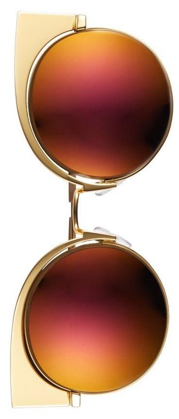 Свадьба - Fendi 53mm Round Cat Eye Sunglasses