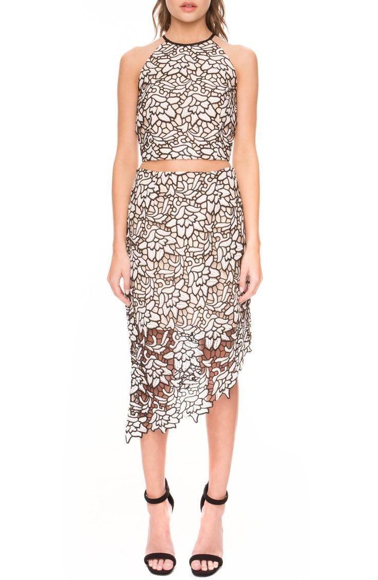 Свадьба - Keepsake the Label 'True Love' Asymmetrical Lace Skirt