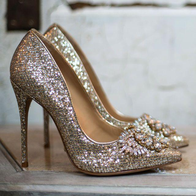 Wedding - Schutz Eliss Glitter Pumps