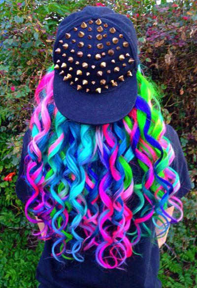 Свадьба - Beautiful-and-colorful-hair