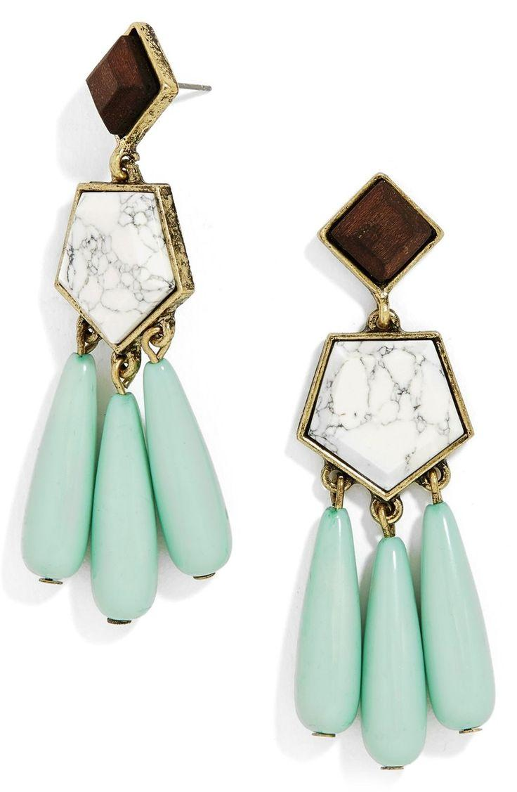 Boda - BaubleBar 'Penta' Drop Earrings