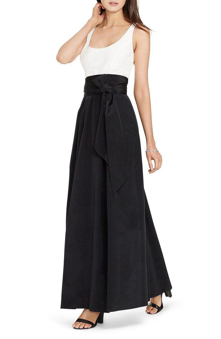 Свадьба - Lauren Ralph Lauren Faille Fit & Flare Gown