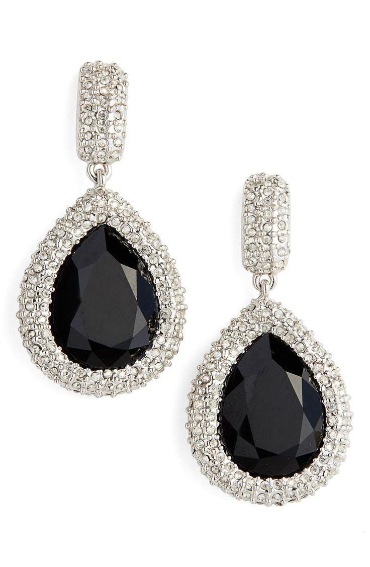 499562650 St. John Collection Swarovski Crystal Drop Earrings #2547956 - Weddbook