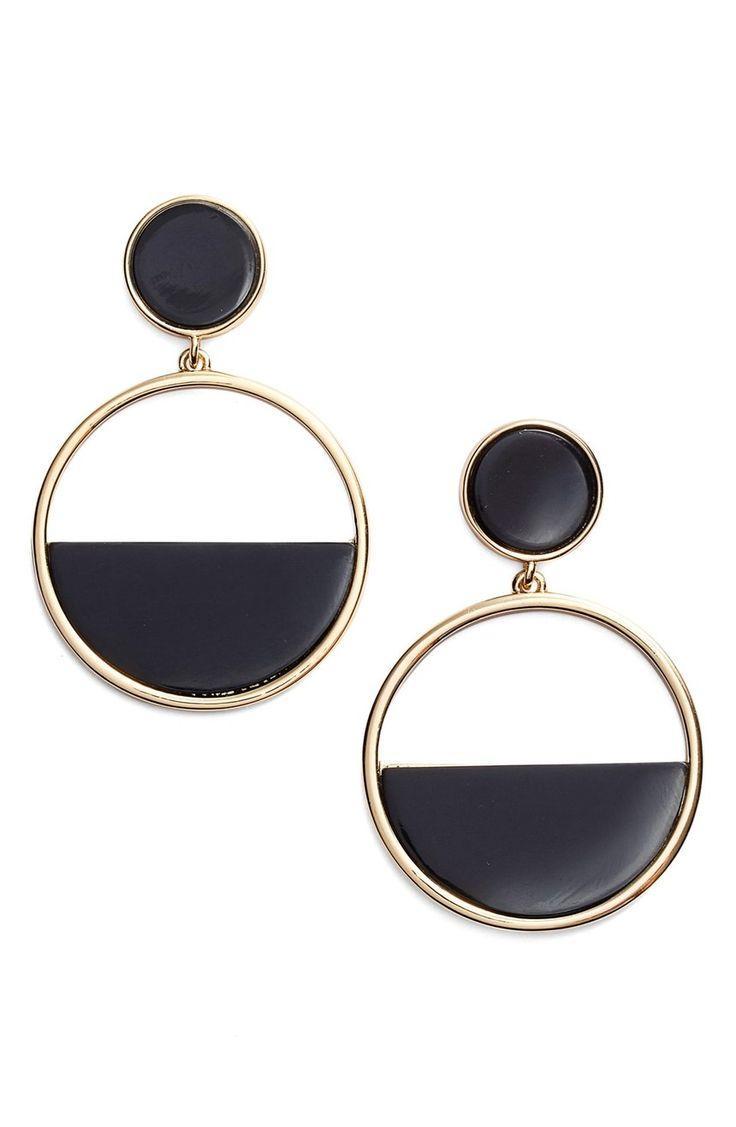 Hochzeit - kate spade new york hoop drop earrings