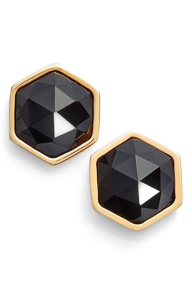 Свадьба - Trina Turk Hexagon Stud Earrings