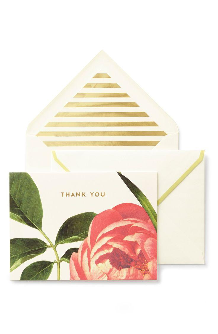 Nordstrom Wedding Gift Card : Kate Spade New York thank You Cards (set Of 10) #2547993 - Weddbook