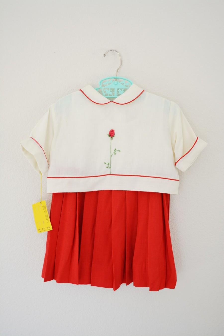 Absolutely Vintage little girls white dress