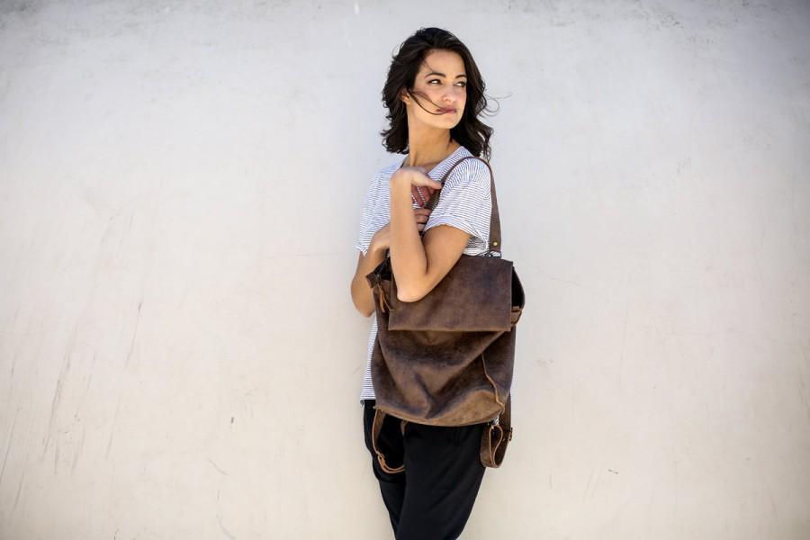 Hochzeit - Leather Tote Bag ,Handmade Leather Bag ,Tote Bag ,Large Leather Bag,Brown Leather Bag, Francis K Bag