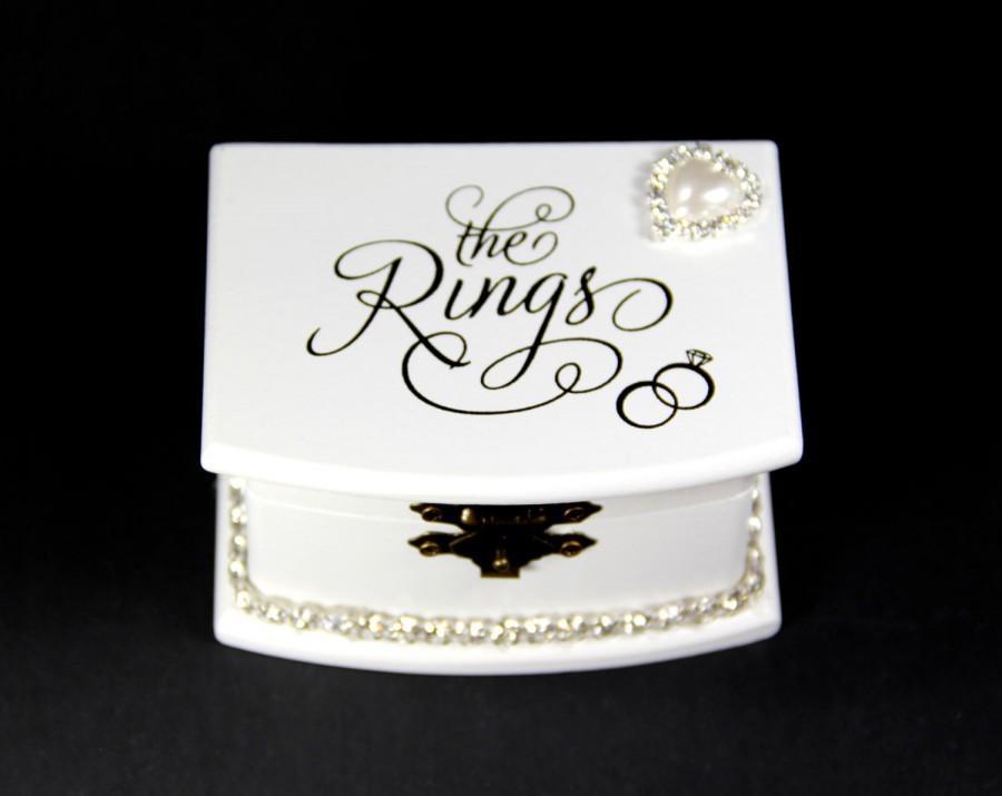 Custom ring box proposal ring box wedding valentines for Custom engagement ring box