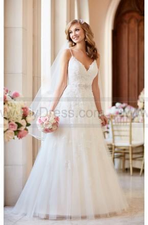 Wedding - Stella York A-line Wedding Dress With V-Neckline Style 6347