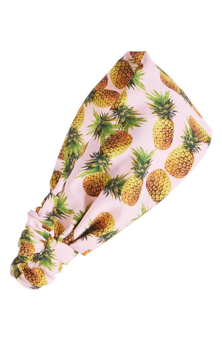 Свадьба - Cara Pineapple Print Head Wrap