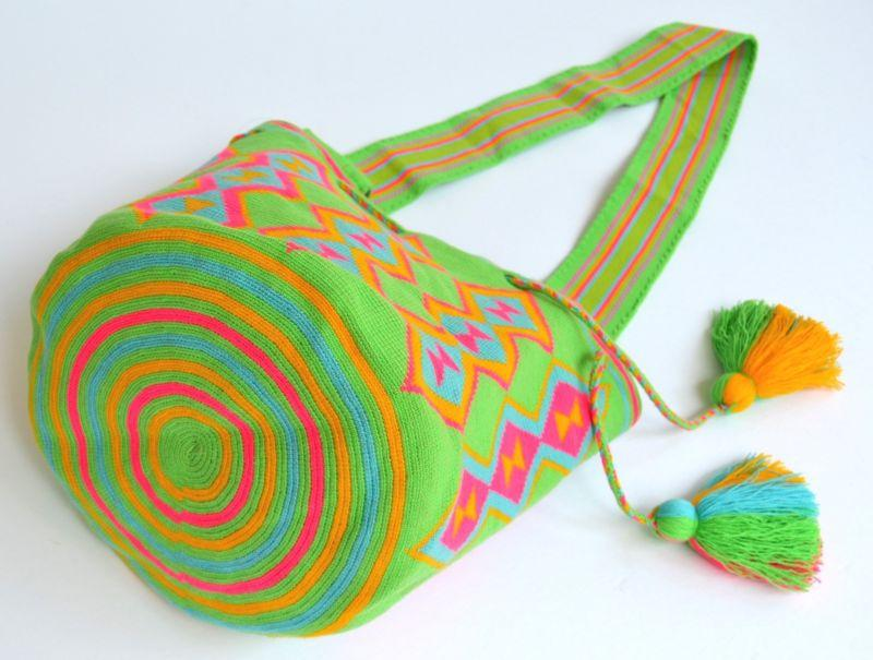Mariage - AUTHENTIC MOCHILA WAYUU / LARGE SIZE / FINEST QUALITY / HANDMADE CROSS BODY BAG