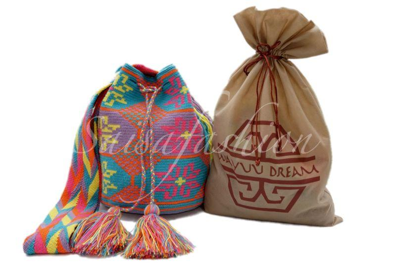 "Mariage - ""AUTHENTIC LARGE  MOCHILA WAYUU  BAG""  GOOD QUALITY - HANDMADE CROSS BODY"