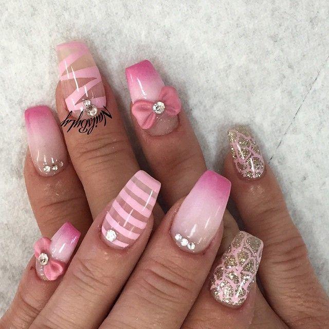 Mariage - Nail Designs