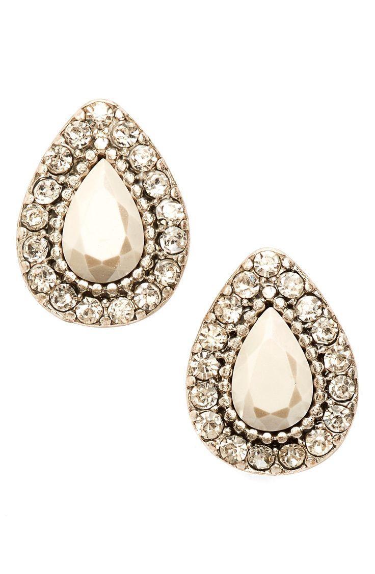 Mariage - 'Endless Love' Stud Earrings