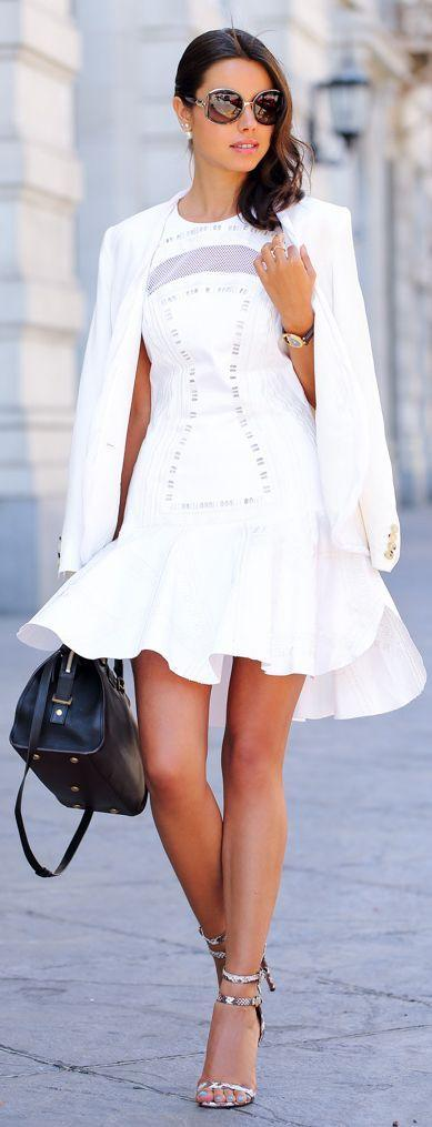 Wedding - White Eyelet Dresses: How To Wear Summer's Prettiest Trend