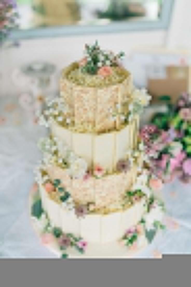 Wedding - Intimate Secret Garden Wedding With Vintage Afternoon Tea