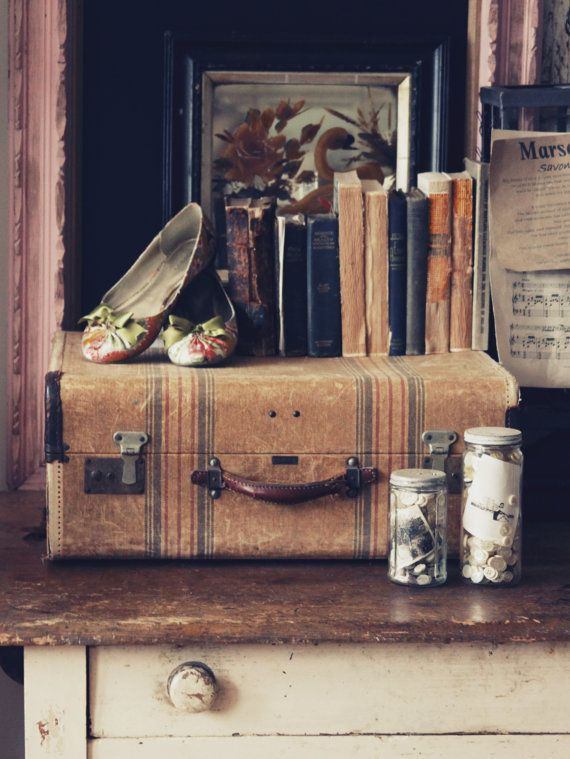 Upcycled Home Decor Giving New Life To Vintage Suitcases